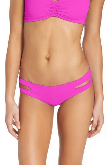 L Space Estella Classic Bikini Bottoms, Pink