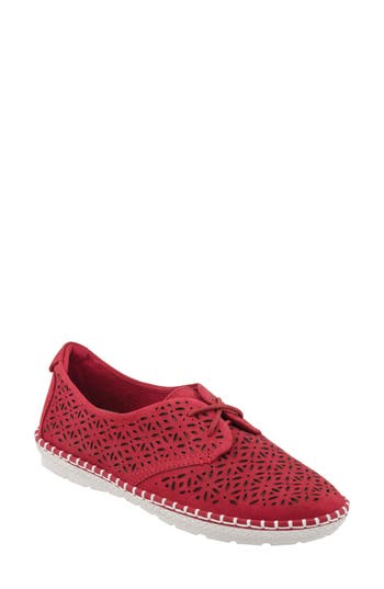 Earth Pax Sneaker, Red