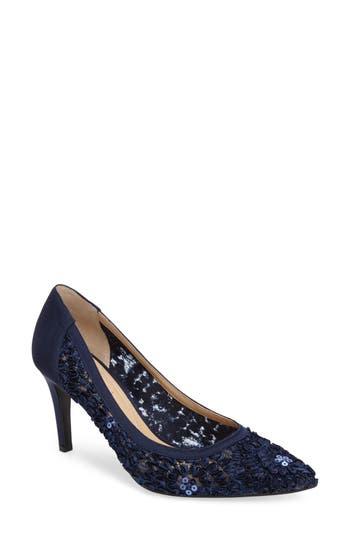 J. Renee Camellia Pointy Toe Pump B - Blue
