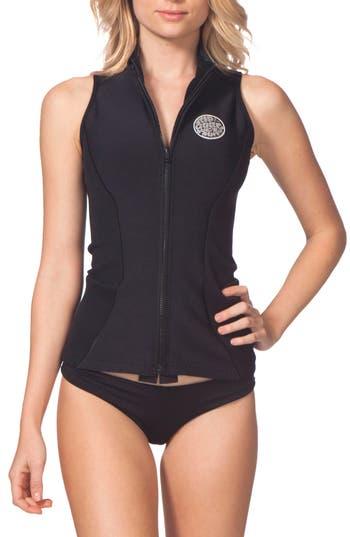 Rip Curl G-Bomb Wetsuit Vest, Black