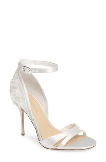 Imagine By Vince Camuto Ricia Flower Sandal, White