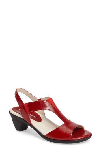 David Tate Accord Sandal W - Red