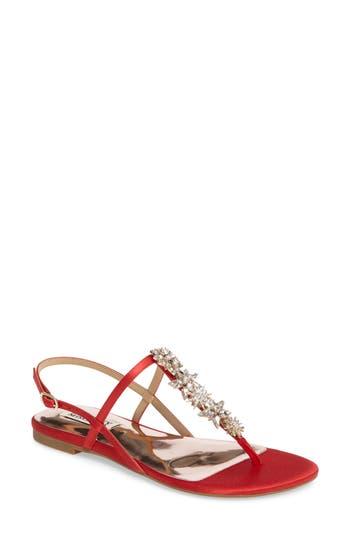 Badgley Mischkia Tate Crystal Sandal