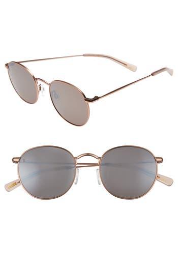Women's Raen Benson 51Mm Sunglasses - Rose Gold/ Flesh