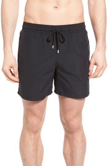 Vilebrequin Swim Trunks, Black