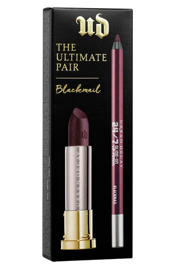 Urban Decay The Ultimate Pair Blackmail Lipstick & Pencil Duo - Blackmail