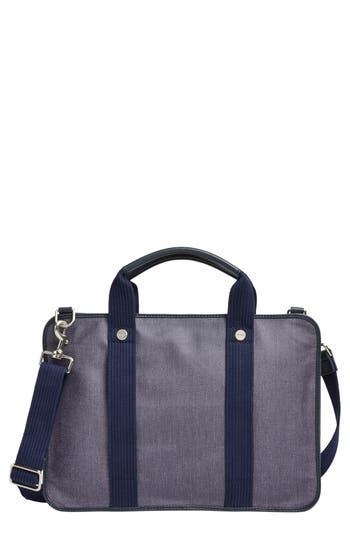 Skagen Hulsten Coated Twill Briefcase - Blue