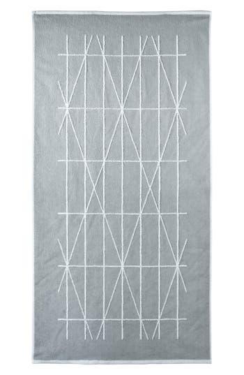 Dkny Geometrix Hand Towel, Size One Size - Grey