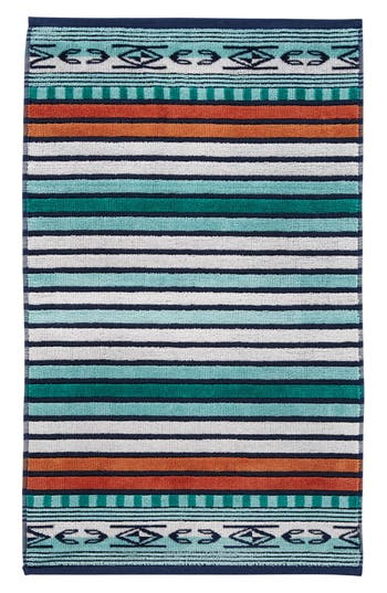 Pendleton Chimayo Jacquard Hand Towel Size One Size  Bluegreen