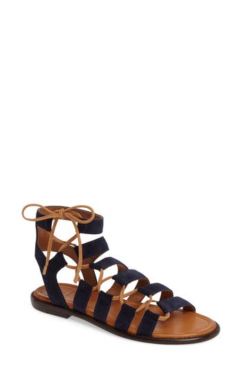 Frye Blair Ghillie Sandal, Blue