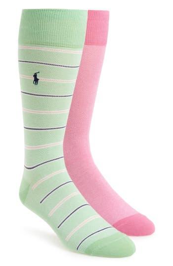 Men's Polo Ralph Lauren Assorted 2-Pack Socks