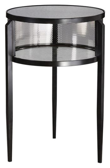 Utttermost Gustav Accent Table, Size One Size - Black
