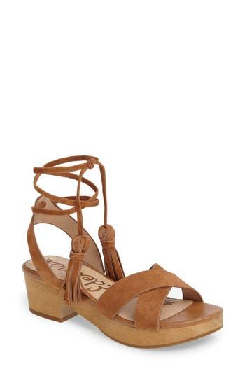 Women's Sam Edelman Jenna Ankle Wrap Sandal
