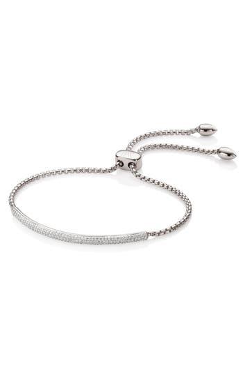 Monica Vinader Stellar Pavé Diamond Mini Bar Bracelet