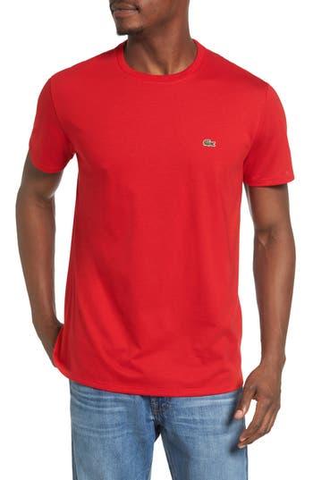 Lacoste Pima Cotton T-Shirt, Red