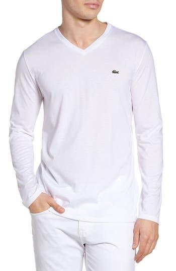 Lacoste Long Sleeve T-Shirt, White
