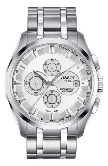 Tissot Couturier Automatic Chronograph Bracelet Watch, 43mm