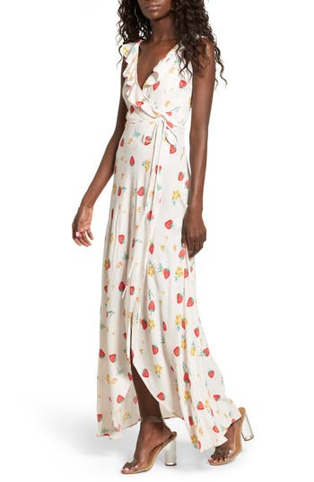 Women's Privacy Please Fillmore Wrap Maxi Dress