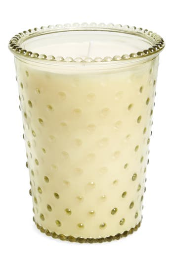 Simpatico Hobnail Glass Candle, Size One Size - Green