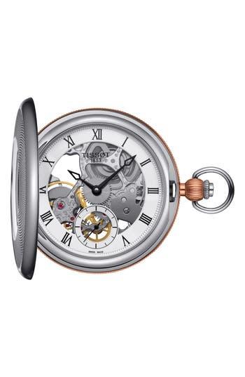 Men's Tissot Bridgeport Mechanical Pocket Watch, 47Mm