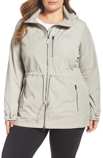 Plus Size Women's Columbia Suburbanizer Water Resistant Front Zip Hooded Jacket
