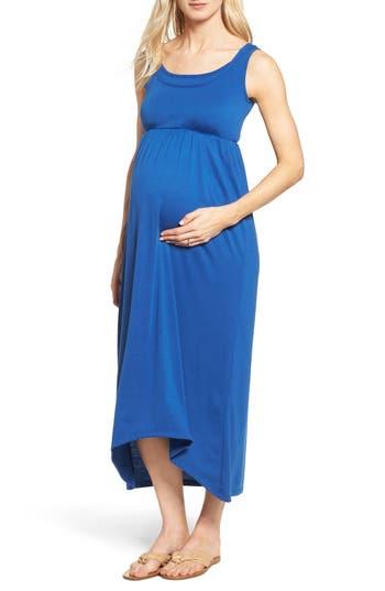 Lab40 Emma Maternity/nursing Dress, Blue