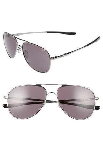 Oakley Elmont 5m Aviator Sunglasses - Gunmetal/ Warm Grey