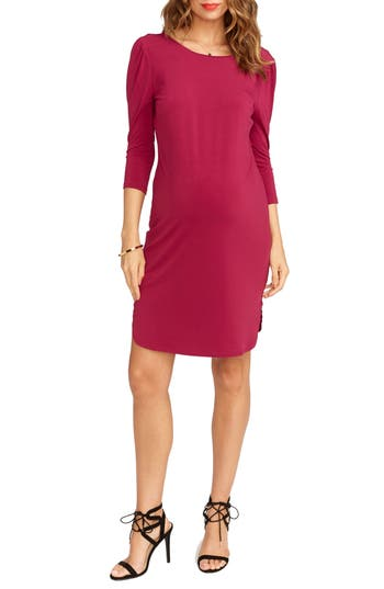 Rosie Pope Britt Maternity Sheath Dress, Purple
