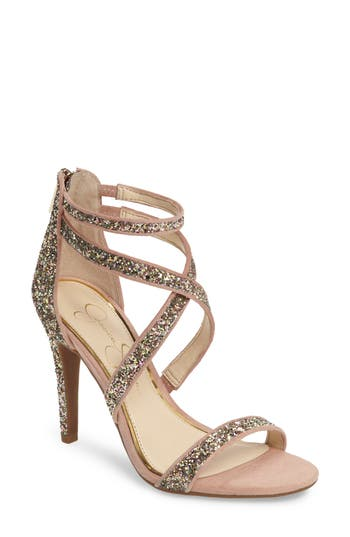 Jessica Simpson Ellenie Sandal- Metallic