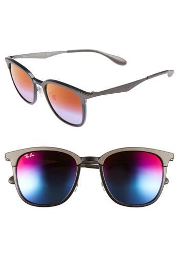 Ray-Ban 51Mm Sunglasses - Dark Grey/ Black