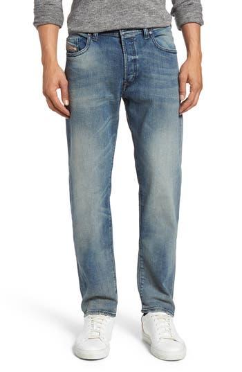 Diesel Buster Slim Straight Leg Jeans, Blue