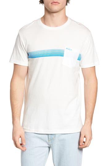 Rvca Stripe Graphic T-Shirt