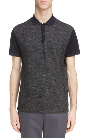Men's Lanvin Wool Blend & Cotton Polo