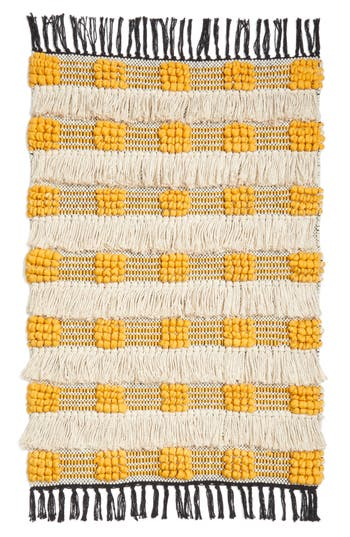Levtex Moroccan Rug, Size 2ft 3in x 3ft 9in - Yellow