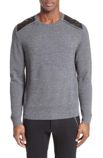 The Kooples Merino Wool Sweater, Grey