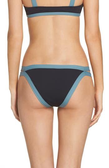L Space Charlie Classic Bikini Bottoms, Black