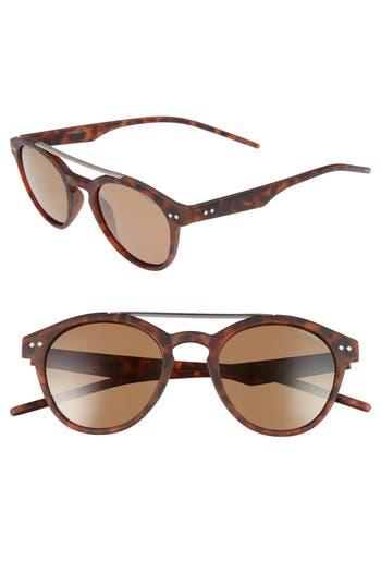 Polaroid Eyewear 50Mm Polarized Sunglasses - Matte Havana/ Bronze