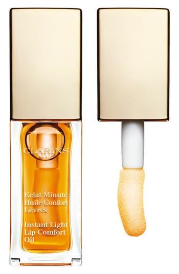 Clarins 'Instant Light' Lip Comfort Oil - 07 Honey Glam