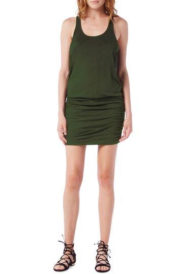 Michael Stars Racerback Tank Dress, Green