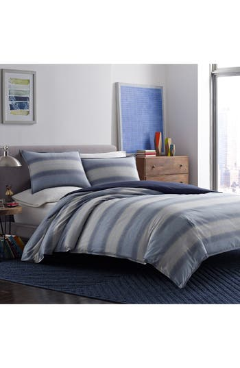 Original Penguin Brody Comforter & Sham Set, Size Twin - Blue