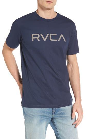 Rvca Big Rvca Graphic T-Shirt, Blue