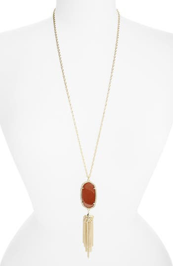 Women's Kendra Scott Rayne Stone Tassel Pendant Necklace