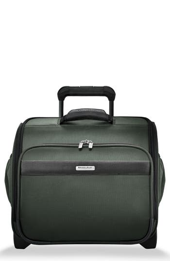 Briggs & Riley Transcend 400 Wheeled Cabin Bag - Green