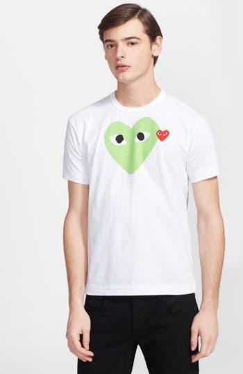 Comme des Garçons PLAY Heart Print T-Shirt
