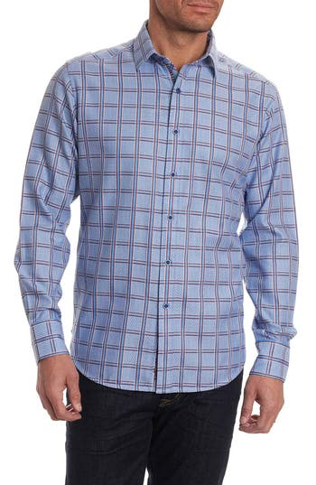 Men's Robert Graham Jerold Print Sport Shirt