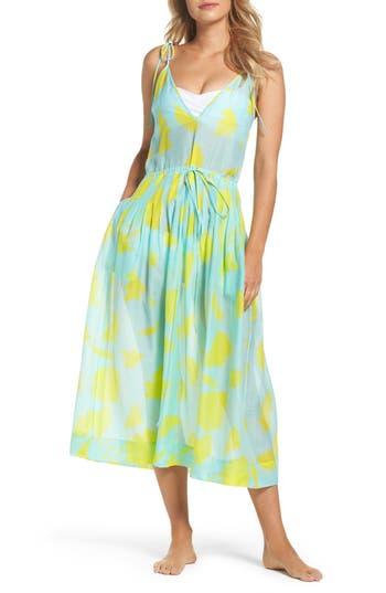 Diane Von Furstenberg Cover-Up Midi Dress, Blue