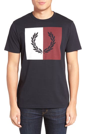 Fred Perry Logo Graphic T-Shirt