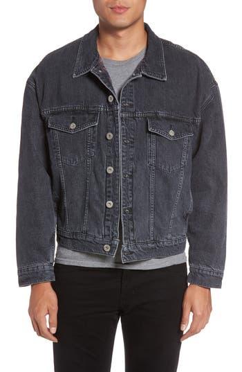 Hudson Jeans Denim Jacket, Grey