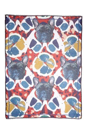 Women's Yigal Azrouël Jagger Print Modal & Cashmere Scarf