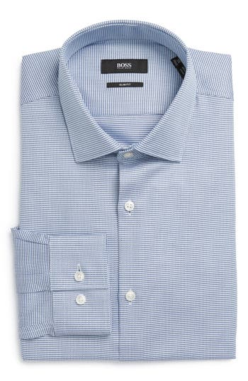 Men's Boss Ismo Slim Fit Geometric Dress Shirt